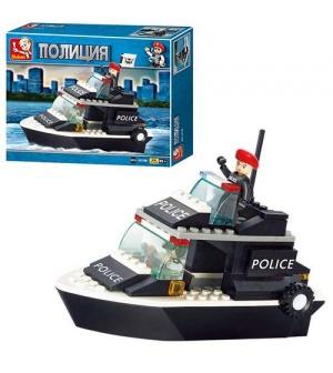 "Конструктор SLUBAN 620070/M38 B 1700 ""Полицейский катер"""