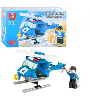 Конструктор SLUBAN M38-B0175 полиция, вертолет