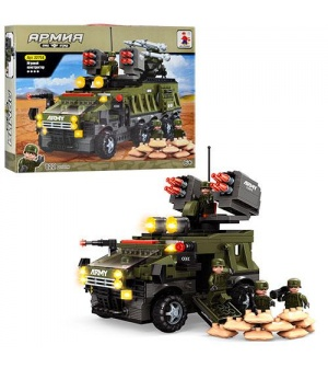 Конструктор AUSINI 22704 Армия, военная техника