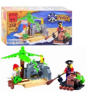 Конструктор BRICK 314 Пиратская серия