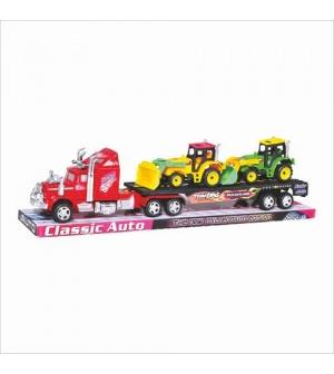 Трейлер 9008 2 трактора