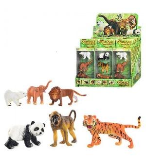 Животные Q 9899-187 дикие, 3 шт в кор-ке, 12 шт в дисплее