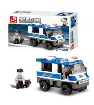Конструктор SLUBAN M38-B0273 полиция, машинка, 126 дет