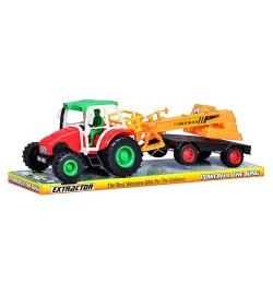 Трактор 168-9 инерц-й, с прицепом и краном