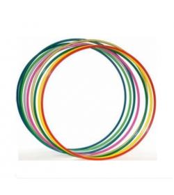Обруч 0123 металлический цветной (10 шт)