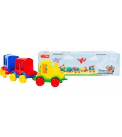 """Паровозик 39260 """"Kid cars"""", 3 вагона, """"Тигрес"""""""
