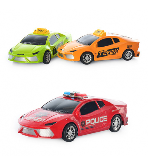 Машина 1211 A-2 A инер-я, 2 вида (такси, полиция), в кульке