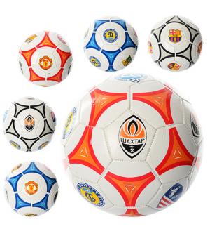 Мяч футбольный EV-3164 размер 5, клубы