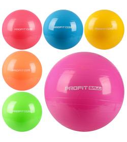 Мяч для фитнеса-55см MS 0381 Фитбол, в кульке