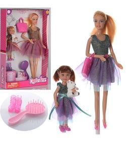 Кукла DEFA 8304 с дочкой, в кор-ке