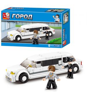 Конструктор SLUBAN M 38 B 0323 Городская серия, лимузин, в кор-ке