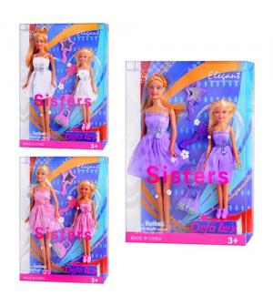 Кукла DEFA 8126 с дочкой, аксессуары, в слюде