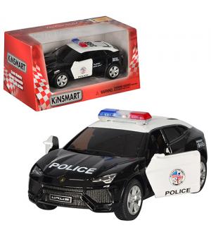 Машина железная HU KINSMART KT 5368 WP инерцыоная, полиция, в кор-ке