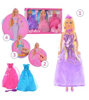 Кукла с нарядом DEFA 8245 в кор-ке