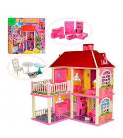 Домик 6980 мебель, для куклы, в кор-ке