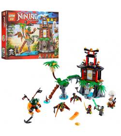 """Конструктор 06030 """"Ninja"""", строение, 482 дет, в кор-ке"""