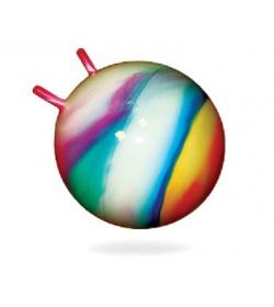 Мяч для фитнеса 0210 BAMSIK диаметром 45 см, с рожками