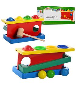 Деревянная игрушка MD 0026 Стучалка