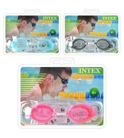 Очки для плавания 55684 (12шт/ящ) INTEX