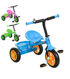 Велосипед M 3252-B PROF1 KIDS, голубой, розовій, зеленый