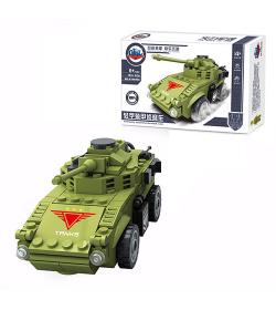 Конструктор GBL KY98402 танк,
