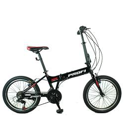 Велосипед 20 д. G20RIDE A20.1 (1шт/ящ),черный