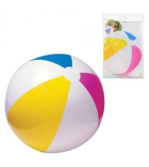 Мяч 59030 (36шт/ящ) разноцветный INTEX