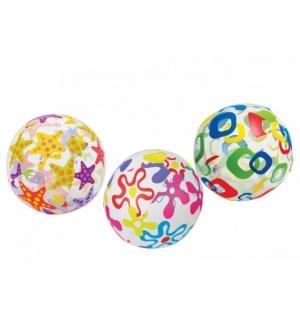 Мяч 59040 (36шт/ящ) разноцветный INTEX