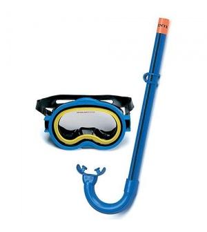 Набор 55942 (6шт/ящ)маска трубка INTEX