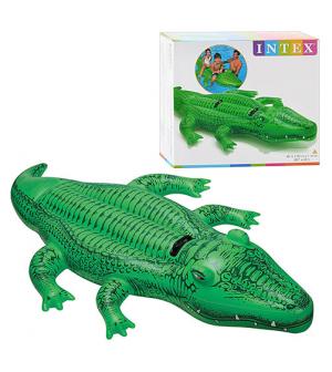 Плотик 58562 (6шт/ящ) крокодил INTEX