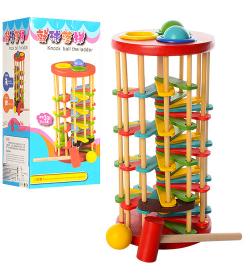 Деревянная игрушка Стучалка QZM-0205 (50шт) в коробке