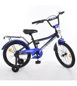 Велосипед детский PROF1 18д. L18101 (1шт/ящ) Top Grade, черный