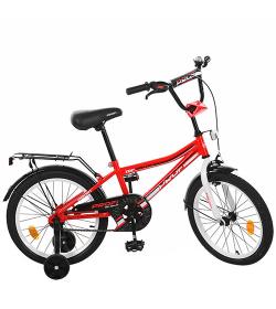 Велосипед детский PROF1 18д. L18105 (1шт/ящ) Top Grade, красный