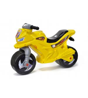 Мотоцикл 501 Б (1шт) для прогулок ,2-х колесный с каской (Б-сигнал )-ЗС, Орион