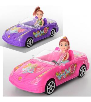 Кукла 5577 с машинкой, в кульке