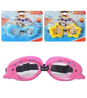 Очки для плавания 55603sh (12шт) детские INTEX