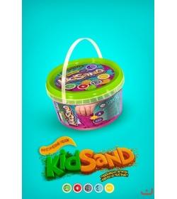 """Набор Кинетический песок KS-01-02 """"KidSand"""" 500 г"""