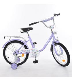 Велосипед детский PROF1 14д. L1483 (1шт/ящ) Flower, фиолетовый,