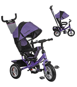 Велосипед M 3113-8A (1шт/ящ) Turbo Trike, фиолетовый