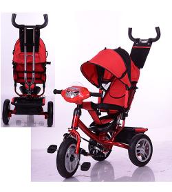 Велосипед M 3115-3HA (1шт/ящ) Turbo Trike, красный