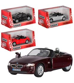 """KT Машинка жел. HU KINSMART KT 5069 W """"BMW Z4"""""""