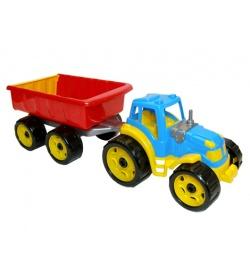 Трактор 3442 с прицепом, ТехноК