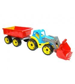 Трактор 3688 ковш с прицепом, ТехноК