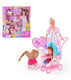 Кукла DEFA 8049 с нарядом, беременная