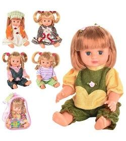 JT Кукла ОКСАНОЧКА 5063-5064-5065-5058 в рюкзаке
