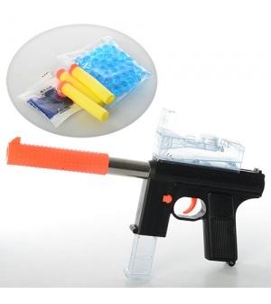 Автомат M 206 на водяных и пулях-присосках, в кульке
