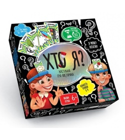 """Игра """"Кто Я"""" HIM-02-02 (6шт) малая, (укр), в коробке"""