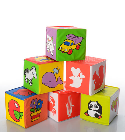 Кубики 5930 Мягкие