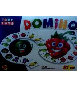"""Домино 30144 фигурное """"EUROTOYS"""" """"FRUIT"""""""