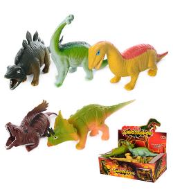 Динозавр 7209 (1уп/12шт) антистресс, в дисплее